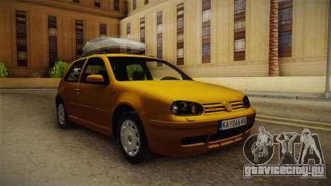 Volkswagen Golf Mk4 Stock для GTA San Andreas вид справа