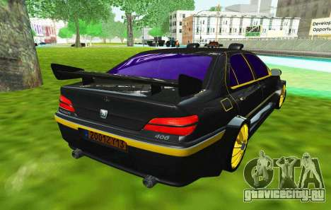 PEUGEOT 406 SLS TAXi 3 для GTA San Andreas