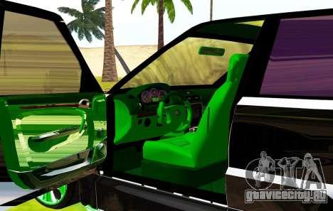 Land Rover Range Rover Sports Light Tuning для GTA San Andreas вид изнутри