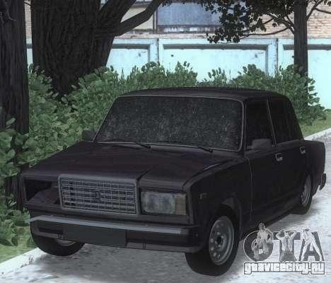 ВАЗ 2107 Побитая для GTA San Andreas