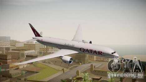Boeing 787 Qatar Airways для GTA San Andreas