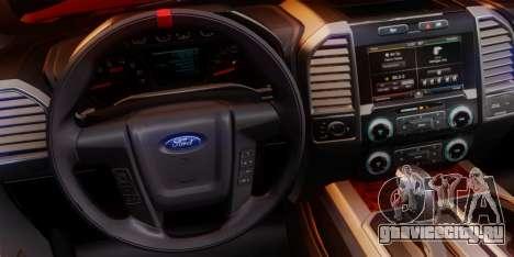 Ford F-150 Raptor LP Cars Tuning для GTA San Andreas вид снизу