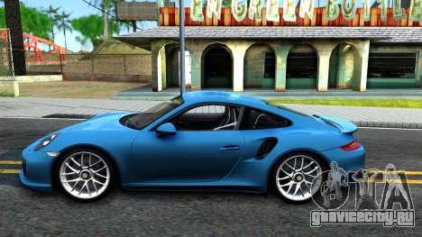Porsche 911 Turbo S для GTA San Andreas вид слева