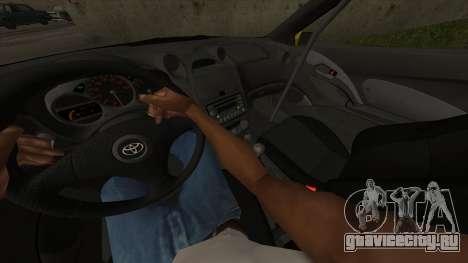 Toyota Celica Tunable для GTA San Andreas вид сверху