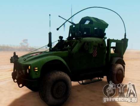 Ошкош М-АТВ хорватский бронированных текстуры автомобиля для GTA San Andreas