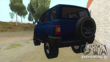 УАЗ 3160 для GTA San Andreas вид сзади слева