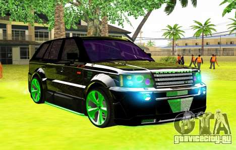 Land Rover Range Rover Sports Light Tuning для GTA San Andreas
