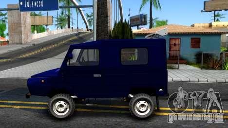 ЛуАЗ 969М Люкс для GTA San Andreas вид слева