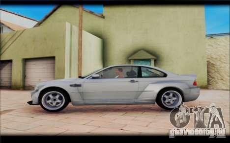 BMW M3 Е46 CSL для GTA San Andreas