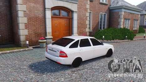 Lada Priora Hatchback для GTA 4 вид слева