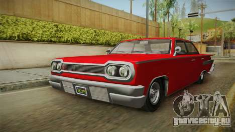 GTA 5 Declasse Voodoo 4-door для GTA San Andreas вид справа