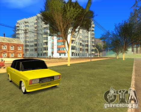 VAZ 2105 Golden Brodyaga Tuned для GTA San Andreas вид справа