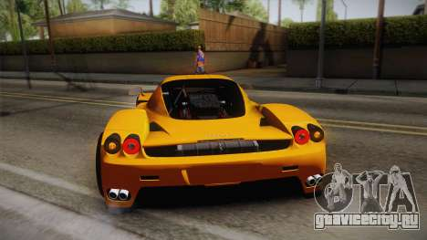 Ferrari Enzo Novitec Rosso для GTA San Andreas вид сверху