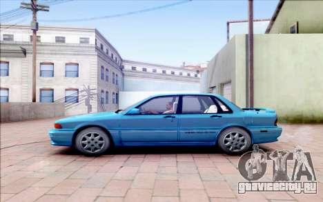 Mitsubishi Galant VR-4 для GTA San Andreas вид слева