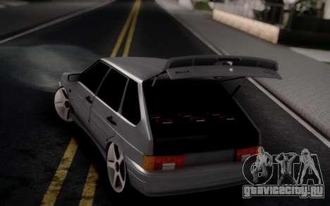 ВАЗ 2114 Авто Звук для GTA San Andreas вид слева