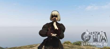 2B (Nier Automata) для GTA 5 третий скриншот