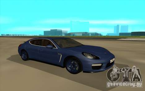 Porshe Panamera GTS для GTA San Andreas