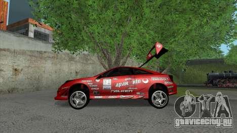 Toyota Celica Tunable для GTA San Andreas колёса