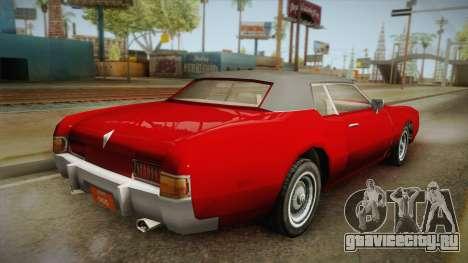 Driver: PL - Fairview для GTA San Andreas вид слева