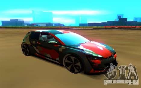Volkswagen Golf Design Vision GTI для GTA San Andreas