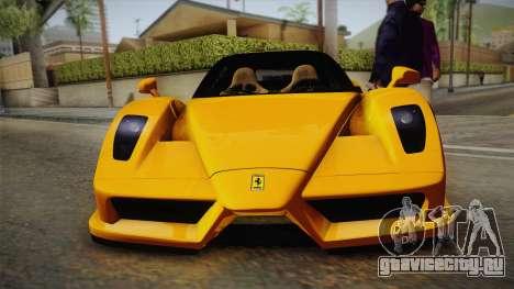 Ferrari Enzo Novitec Rosso для GTA San Andreas вид справа