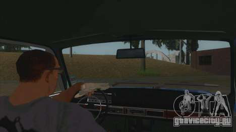 ВАЗ 2101 Эфиопское такси для GTA San Andreas вид изнутри