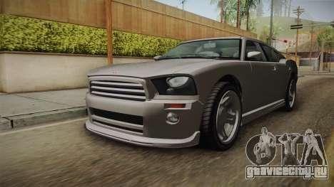EFLC TBoGT Bravado Buffalo Supercharged для GTA San Andreas вид справа