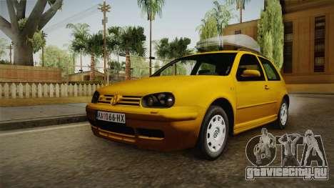 Volkswagen Golf Mk4 Stock для GTA San Andreas