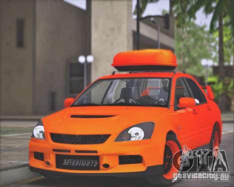 Mitsubishi Lancer Evolution IX MR LPcars для GTA San Andreas
