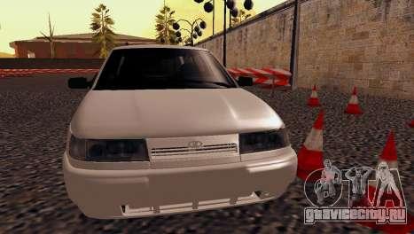 VAZ 2111 Stock для GTA San Andreas вид сзади