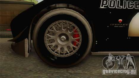 GTA 5 Bravado Banshee Supercop для GTA San Andreas вид сзади