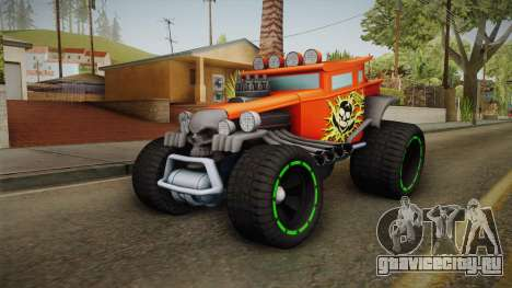 Hot Wheels Baja Bone Shaker для GTA San Andreas вид сзади слева