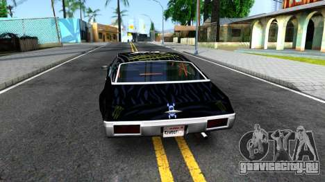 Ken Block Clover для GTA San Andreas вид сзади слева