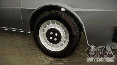 Škoda 120 Stock для GTA San Andreas вид сзади