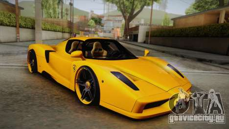 Ferrari Enzo Novitec Rosso для GTA San Andreas
