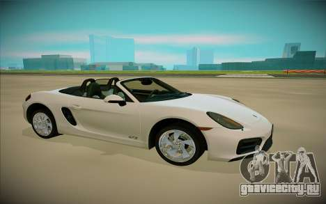 Porcshe Boxster GTS для GTA San Andreas