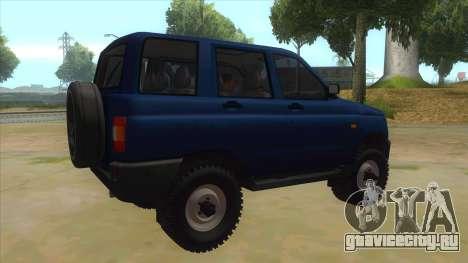 УАЗ 3160 для GTA San Andreas вид справа