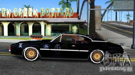 Ken Block Clover для GTA San Andreas вид слева
