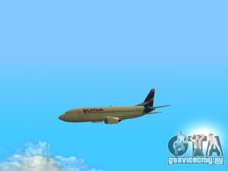 Боинг 737-300 авиакомпании Латинской Америке для GTA San Andreas