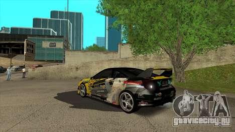 Toyota Celica Tunable для GTA San Andreas вид слева