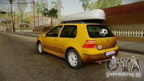 Volkswagen Golf Mk4 Stock для GTA San Andreas вид слева