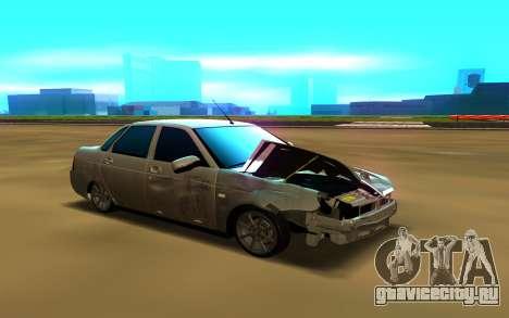 Lada Priora 2170 для GTA San Andreas