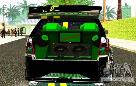 Land Rover Range Rover Sports Light Tuning для GTA San Andreas вид сзади