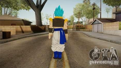 DBX2 - Gogeta SSB для GTA San Andreas третий скриншот