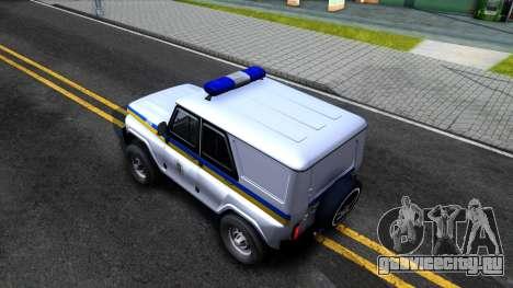 УАЗ Hunter Милиция Украины для GTA San Andreas