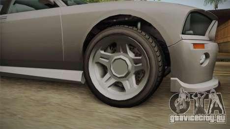 EFLC TBoGT Bravado Buffalo Supercharged для GTA San Andreas вид сзади