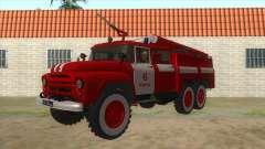 ЗиЛ 131Н АЦ-40 Пожарная для GTA San Andreas