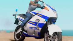 Croatian Police Bike для GTA San Andreas
