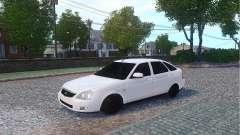 Lada Priora Hatchback для GTA 4