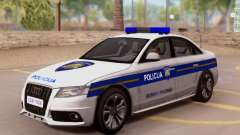 Audi S4 Croatian Police Car